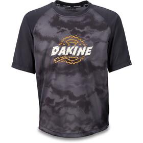 Dakine Prodigy Koszulka z krótkim rękawem Dzieci, black/dark ashcroft